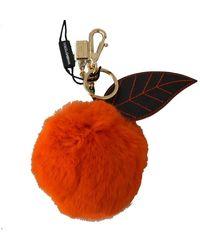 Dolce & Gabbana Porte-clés - Orange