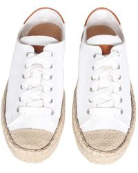 JW Anderson Canvas Sneakers - Wit