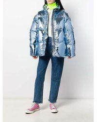 Ienki Ienki Oversize Puffer Jacket Azul