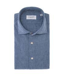 Maison Kitsuné Shirt - Blauw