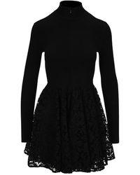Valentino Dress Wb3kdb016hv - Zwart