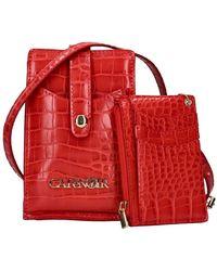 CafeNoir C4al 0004 shoulder straps & messenger accessories - Rojo