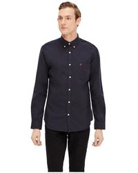 SELECTED 'collect' Long-sleeved Shirt - Zwart