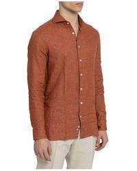 Lardini Shirt Marrón