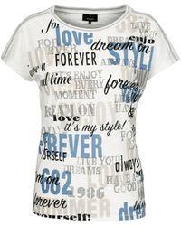 Monari T-shirt 405359 - Wit