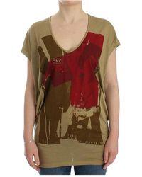 CoSTUME NATIONAL Print shortsleeve t-shirt - Vert