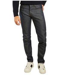 Naked & Famous Super Guy Natural Indigo Selvedge Jeans - Zwart