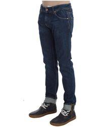 Acht Slim Fit Jeans Azul