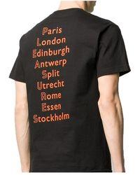 Pleasures Megusta Exclusive Europe 92 T-Shirt Negro