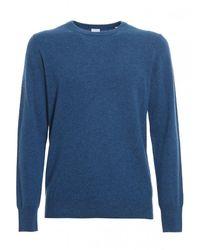 Aspesi Crew Neck Sweater M1054568 - Bleu