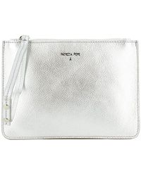 Patrizia Pepe Travel Mini Clutch Bag - Grijs