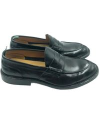 Green George Loafers - Nero
