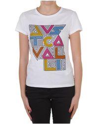 Just Cavalli - S02gc0422 N20663 Short Sleeve T-shirt - Lyst