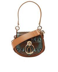 Chloé 'tess' Shoulder Bag - Bruin