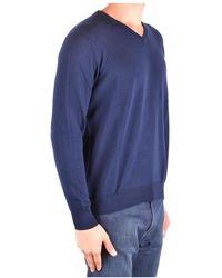 Altea V-neck Knitwear Azul