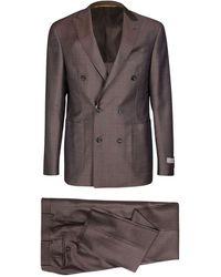Canali Suit - Bruin