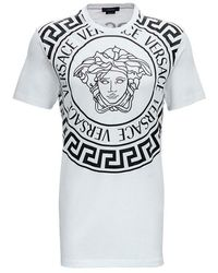 Versace Medusa Print T-shirt - Wit