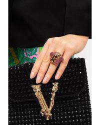 Versace Brass ring Beige - Neutro