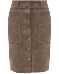 AllSaints Lorel Skirt - Grijs