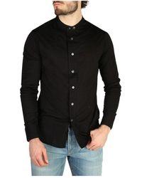 Emporio Armani Chemise à manches longues - Noir