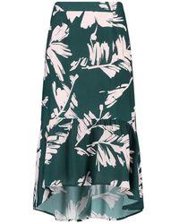 CKS Rok long Eliot Abstract Skirt - Vert