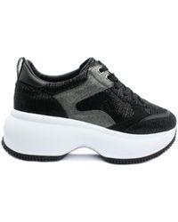 Hogan Maxi One Active 0b4 Sneakers - Zwart