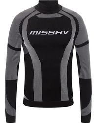 MISBHV Sport Active Classic performance T-shirt - Schwarz