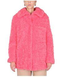 Stella McCartney Oversize Coat Rosa