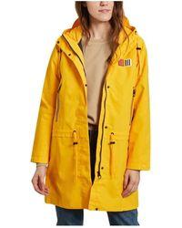 Aigle Gimiso Waterproof And Windproof Long Parka - Geel