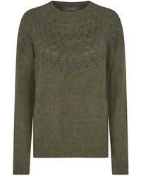 Mos Mosh Sidsel knitwear 139660 - Verde