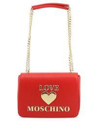 Love Moschino Tas - Rood