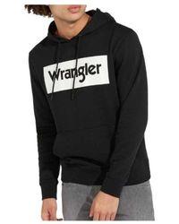 Wrangler Sudadera W641Hy100 Negro