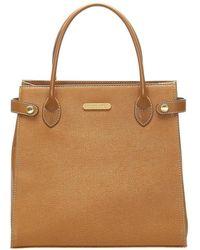 Burberry Leather Handbag - Bruin