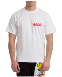 Gcds - Short sleeve t-shirt crew neckline - Lyst