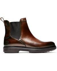 Timberland Chelsea Boots Rr 4610 - Paars