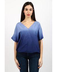 Attic And Barn Shirt - Bleu