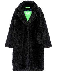 OOF WEAR Fur Coat - Schwarz