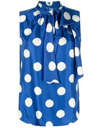Moschino Shirt - Bleu