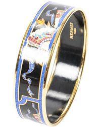 Hermès Bracelet en émail - Noir