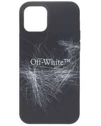 Off-White c/o Virgil Abloh IPhone 12/12 Pro case - Schwarz