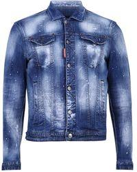 DSquared² Denim Jacket - Blauw