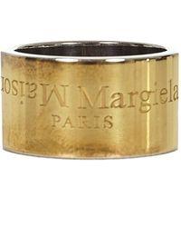 Maison Margiela Bijoux Ring - Metallic
