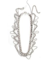N°21 Chain Necklace - Gris
