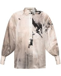 AllSaints Oana patterned shirt - Neutro