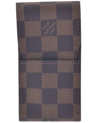 Louis Vuitton Etuit à cigarettes - Marrone