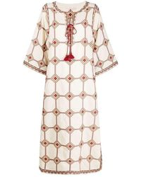Tory Burch - Embroidered Caftan - Lyst