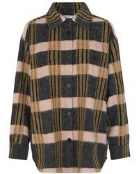 Munthe Packera Shirt Jacket - Zwart
