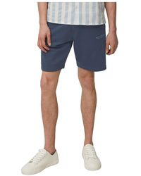 Marc O'polo Tracksuit Shorts - Blauw