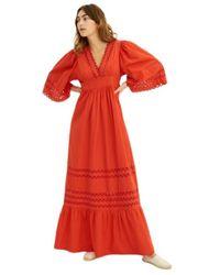 Antik Batik Dress - Rouge