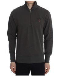 Aeronautica Militare Stretch Half Zipper Sweater - Grijs